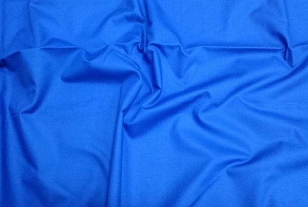 Plain Blue Shirt Fabric